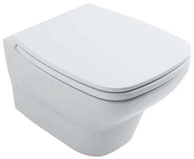 Окачена тоалетна чиния DAILY с капак плавно затваряне TAKE-OFF
