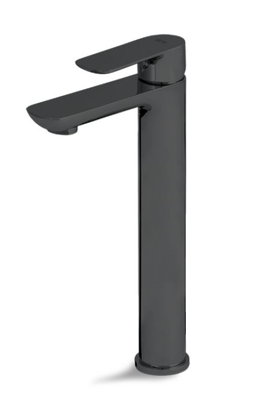 Смесител за мивка висок Slate черен мат - Vema