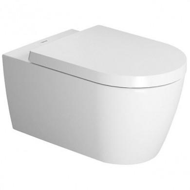 Окачена тоалетна чиния ME By STARCK БЕЗ РЪБОВЕ с капак плавно затваряне