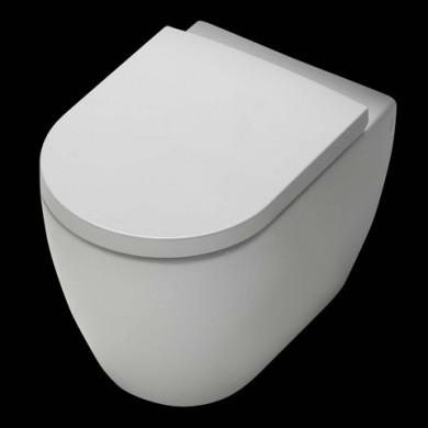 Стояща тоалетна чиния HATRIA FUSION с капак плавно затваряне 54x35.5
