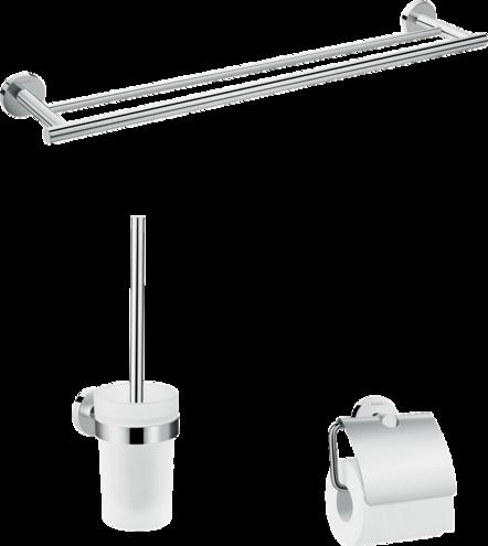 Комплект аксесоари за баня Logis Universal 3in1 - Hansgrohe