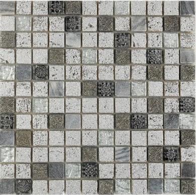Стъклокерамична мозайка Imperium Silver