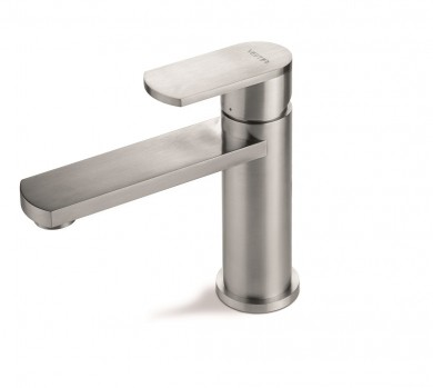 Смесител за мивка Plavis steel надрана стомана - VEMA