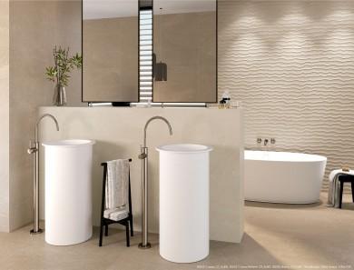 Плочки за баня 8205 Crema 33,3x80