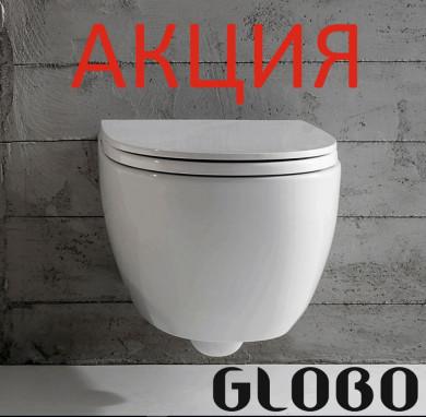 АКЦИЯ окачена тоалетна 4ALL БЕЗ РЪБОВЕ в комплект със структура за вграждане TECE