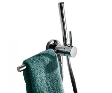 Интимен душ за вграждане Max с държач за хавлия - TRES